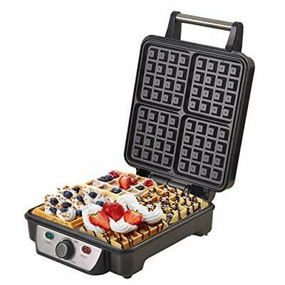 CAMRY Waffle Maker 1150 W Black, Multicolour, One Size