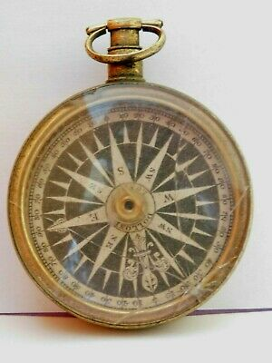 c1846 ANTIQUE  COMPASS by DOLLAND LONDON