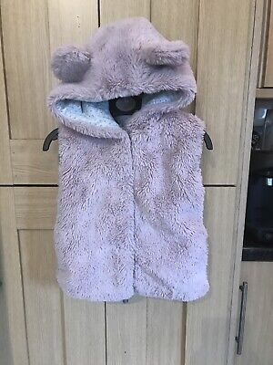 Next Girls Gillet Age 2-3 Years Ex Condition