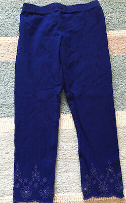 M&S Autograph Girls Embellished Leggings Age 2-3