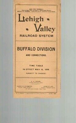 Lehigh Valley Railroad  Buffalo Division  1898  Lvrr