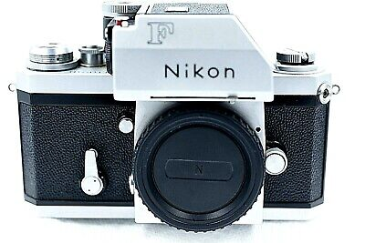Nikon F Photomic Tn Chrome Body. Excellent-. Meter Powers Up. See Photos.