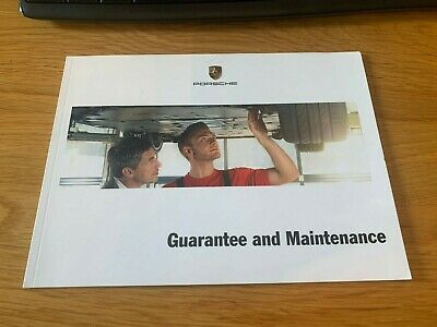 Porsche - Guarantee & Maintenance Service Book (New & Unregistered)