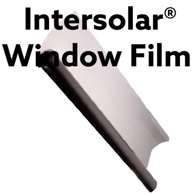 """WINDOW TINT FILM  Ligh 20"""" x 100 FT hp 2 ply Intersolar® Made in usa Carbon xr"""