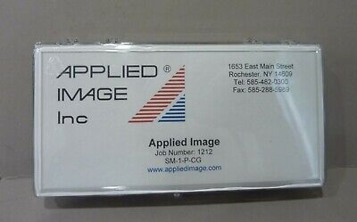 "Micro Stage Micrometer 5"" Applied Image Sm-1-P-Cg Chrome On Glass"