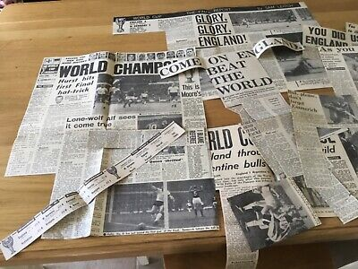 1966 World Cup Press cuttings and more.