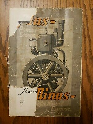 Cushman Gasoline Catalog Original Lincoln Nebraska