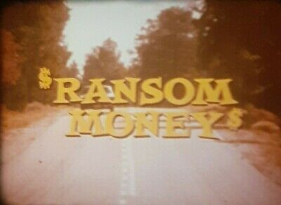 ransom money 2x1600ft 16mm feature film made in 1970