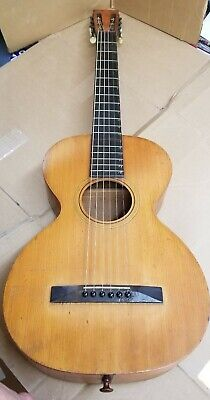 19th Century Acoustic Parlor Guitar without Case