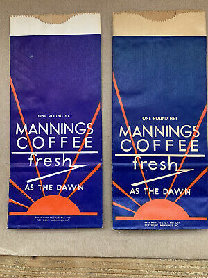 Mannings Coffee Bags 2 Each