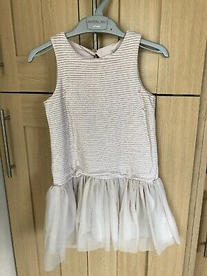 Next Girls Pretty Dress Age 4 Years Vgc