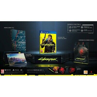 Preordine 17 settembre 2020 - CYBERPUNK 2077 + STEELBOOK Playstation 4 PS4