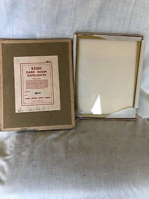 Ilford 10x8 Safelight Filter screen No. 901 And 907. Never Used Still Boxed.