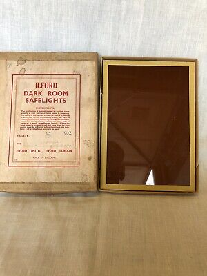 Ilford Darkroom Safelight 5x7. No.902,905,906,907.  909 And 910