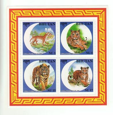 Block aus Bhutan Tiger