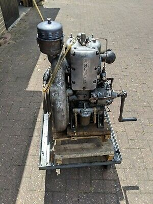 Enfield vs1 mark 2 diesel Stationary engine working order from saw bench