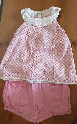 Girls Monsoon Summer Outfit In Good Condition Age 2-3 Yrs