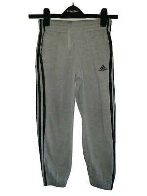 Boys ADIDAS Cuffed Tracksuit Bottoms Age 7-8 Years