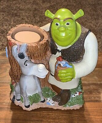 Shrek Donkey Dixie Bathroom Small Cup Holder Dispenser 2004 Good Used