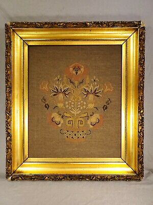 Antique Framed Tapestry (20x24) Frame (27.5x31)