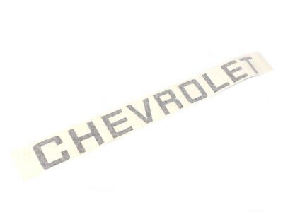 """New! 82-94 Chevrolet S/T Truck Tailgate Decal """"CHEVROLET"""" 14041302"""