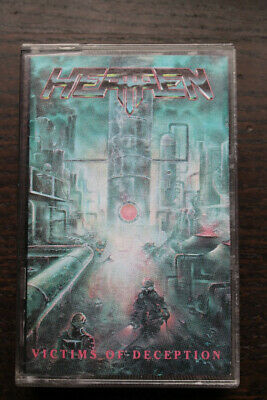 HEATHEN - Victims Of Deception Kassette! NO Vinyl, CD
