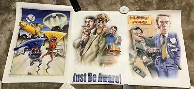 Only Fools And Horses Artwork Poster Set Of 3