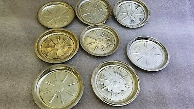 8 Tiffany & Co. Sterling Silver Plates  1920