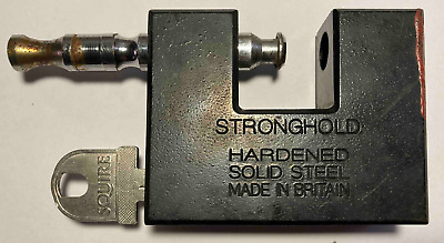 Squire Stronghold WS75 Container Lock 80mm High Security 9/10 Padlock