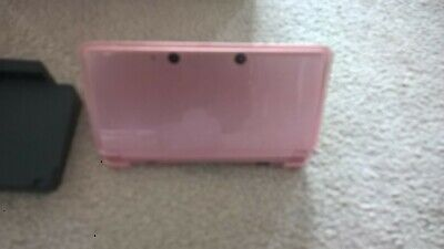 Nintendo 3ds Console Cats and Dogs in Coral Pink.