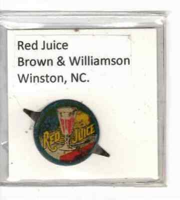 Tobacco Tag Brown & Williamson Co. Winston, NC. Red Juice