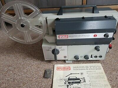 Vintage Austrian Made Eumig 8mm Projector
