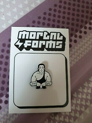 Andre The Giant Westle Crate Pin desiged by Mortal Forms