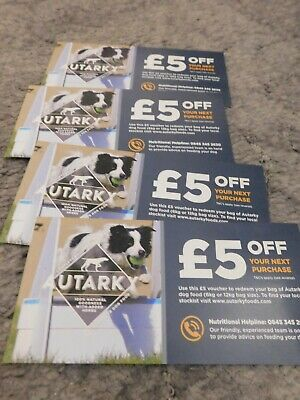 Breast Cancer Now: Autarky gift vouchers (dog food)