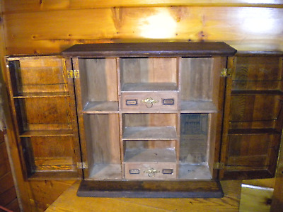 Rare Vintage DOCTORS CABINET / Kaufman & Spencer CHICAGO