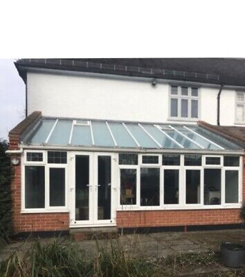 Large Preowned Upvc And Glass Conservatory