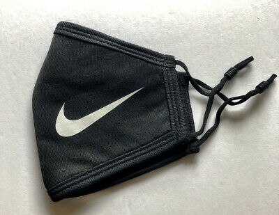 Brand New Nike Face Mask Thick Double Layered Cotton w/ 2 Bonus Civilian Masks