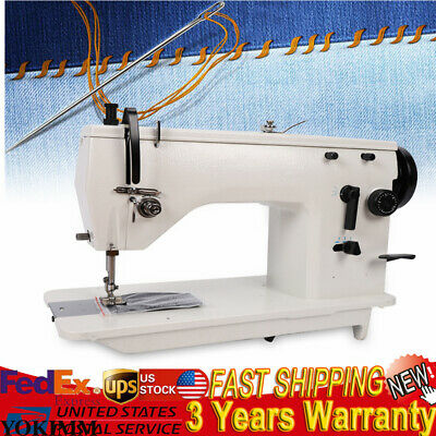 Industrial Sewing Machine , walking foot , Leather Straight Seam Zigzag Sewing