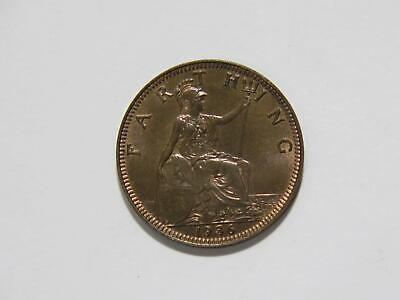 Great Britain 1936 Farthing Unc Toned King George V World Coin 🌈⭐🌈