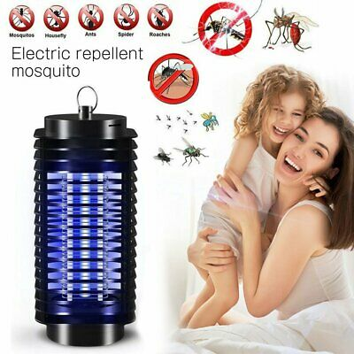 LED Electric UV Mosquito Killer Lamp Fly Bug Insect Repellent Zapper Trap US