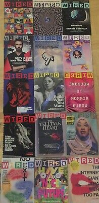 Wired Magazine Lot Of 15 Issues 2019 2020 New