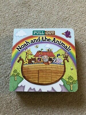 Pull Out Noah And The Animals Children Baby Toddler Book