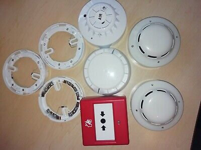 Job Lot of Fire alarm Devices Smoke Detectors & Bases & Others