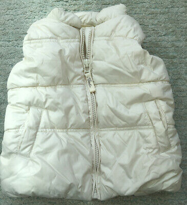 Next Girls Bodywarmer/gilet Age 9-12 Months
