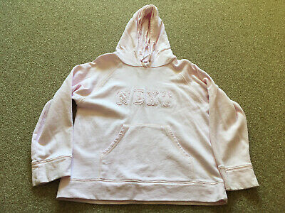 Girls, Next, Pink, Lightweight, Hoodie. Age 9yrs