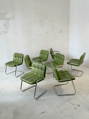 1970 Yves Christin Airborne 8 Chaises Space-Age Pop Post-Moderniste Shabby-Chic