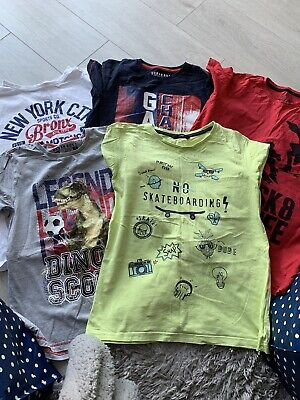 Pack Of 5 Boys T Shirts Aged 12 Years