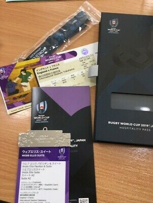 2019 World Cup In Japan - France V England - Hospitality Pass