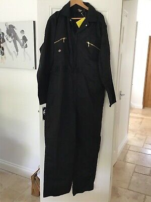 Dickies redhawk coverall black size 44R