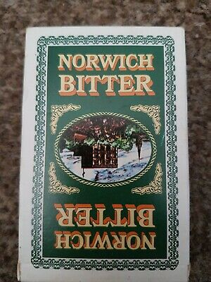 VINTAGE NORWICH BITTER PLAYING CARDS 1980's   *  NEW *